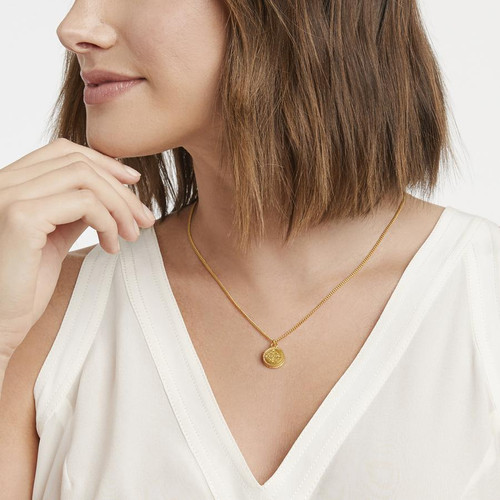 Reversible Solitaire Necklace