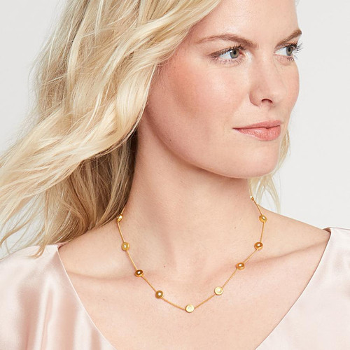 Poppy Delicate Necklace - Gold
