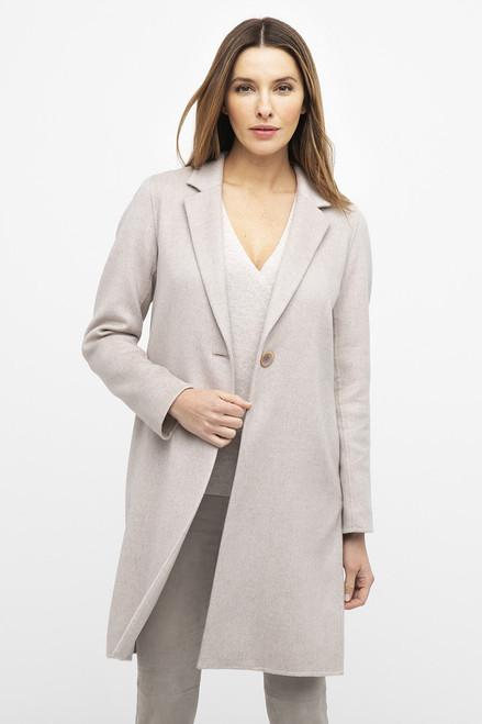 Light Weight Notch Collar Coat