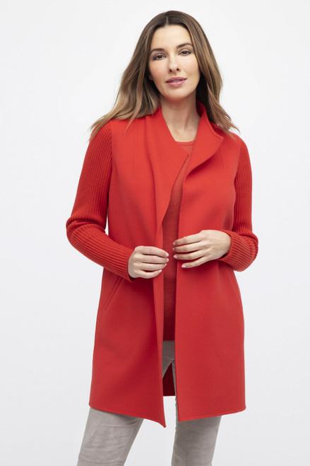Rib Sleeve Coat