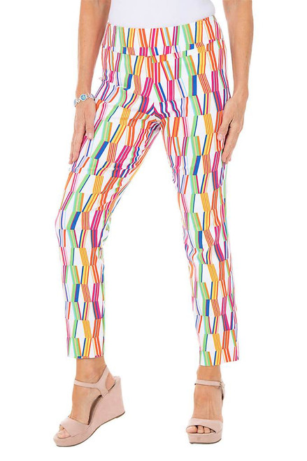 Bold Pattern Pull On Pant