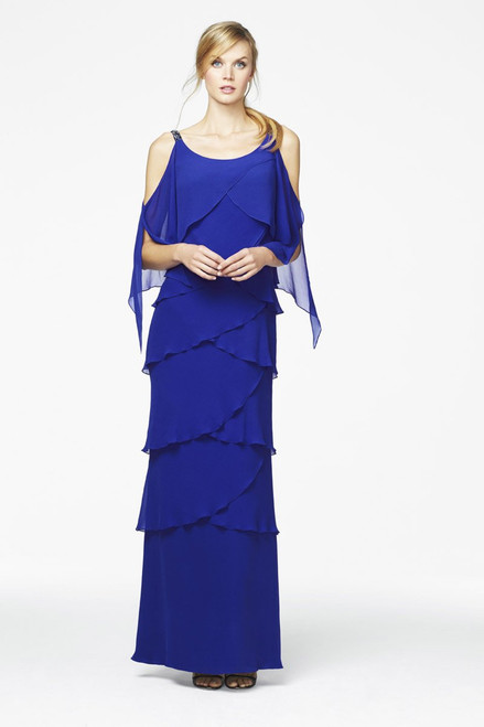 Detailed Stap Teired Gown