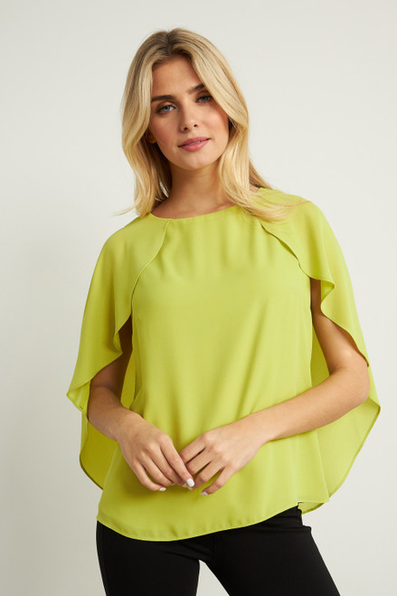 Cape Sleeve Back-tie Top