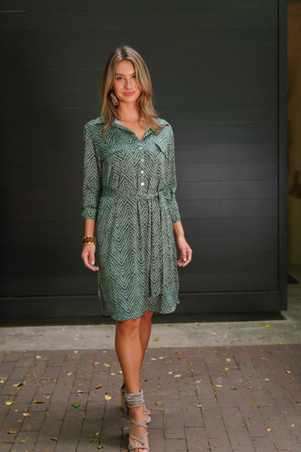 Chevron Layla Dress