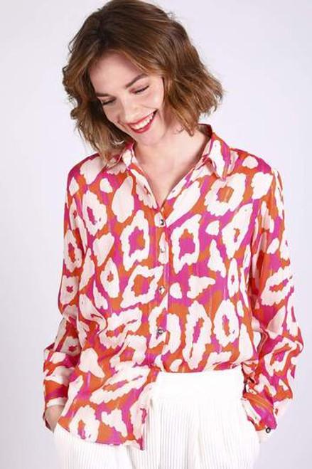 Wild Pink Animal Print Shirt