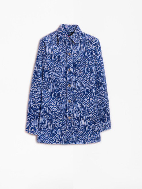 Zebra Jacquard Jacket