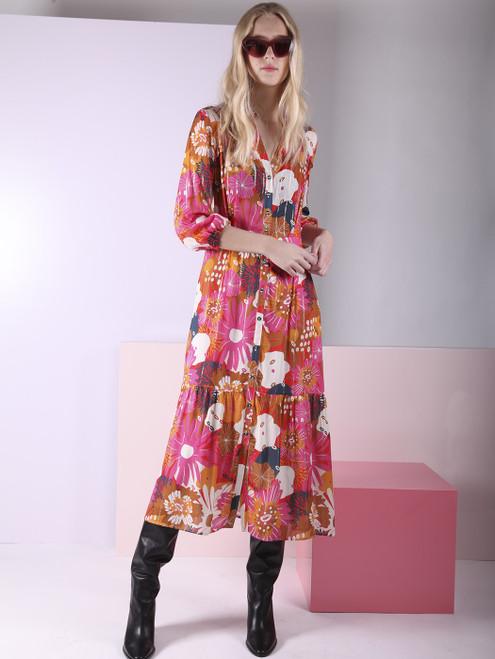 Gavitella Print Dress