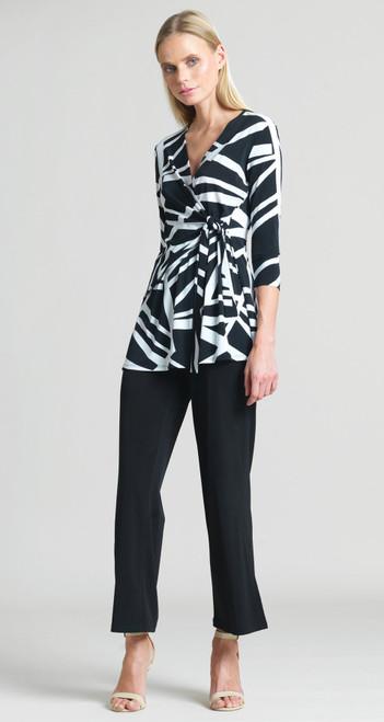 Zigzag Stripe Sidetie Tunic