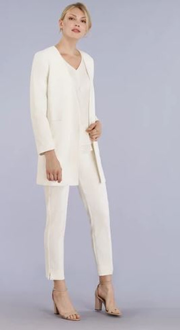 Front Zip Ankle Pant