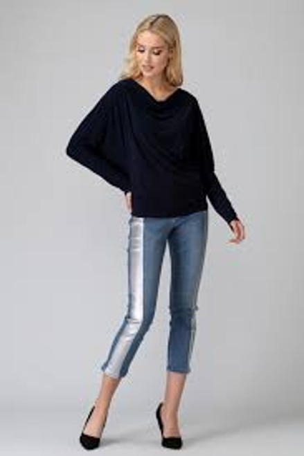 Dark Denim with Silverstripe