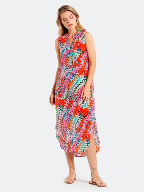 Psychedelic Tie Dye Ellis Dress
