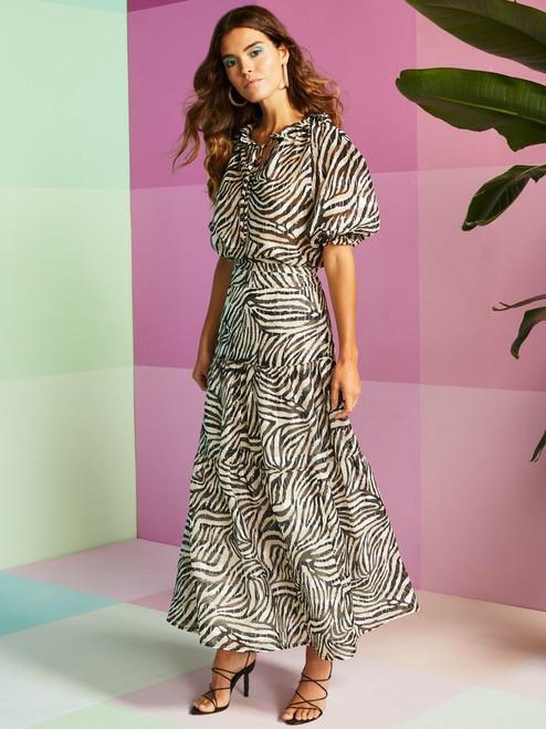 Meadow Tiger Maxi Skirt