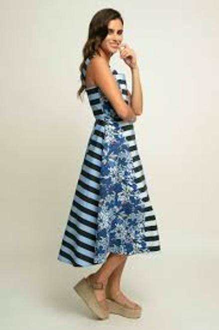 Mettie Dress-blueberry Strata