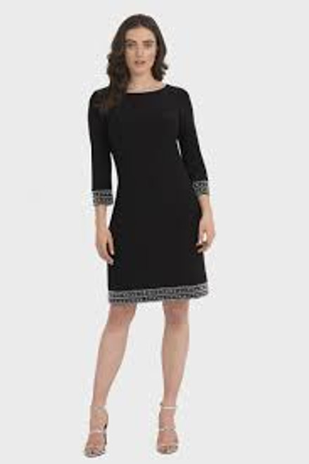 3/4 Sleeve Bead Detail Dress