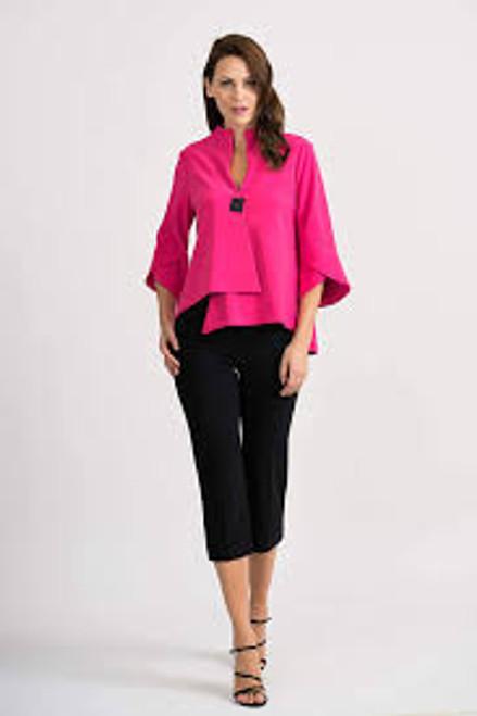 Hyper Pink Asymetrical Jacket