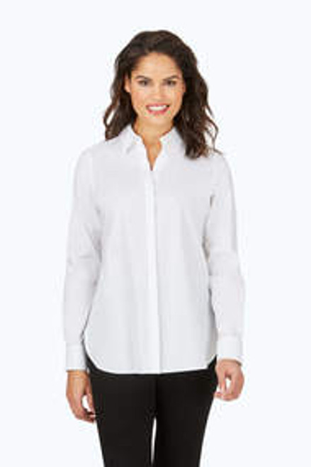 Kylie Long Sleeve Stretch Blouse