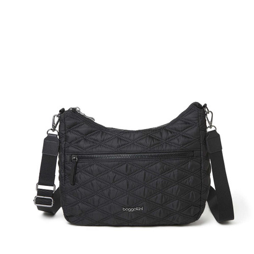 Quilted Convertible Hobo