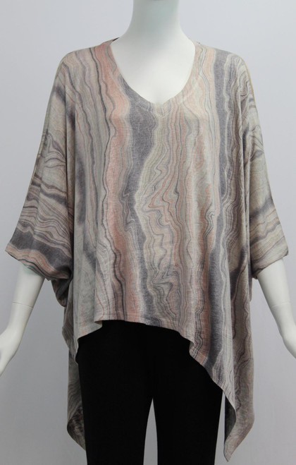 Oversized Angle Top
