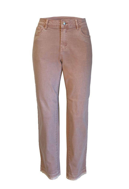 Zip Fly Ankle Pant