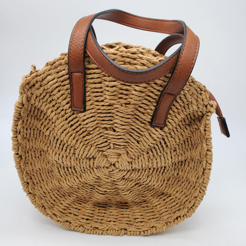 Frankie Natural Straw Bag