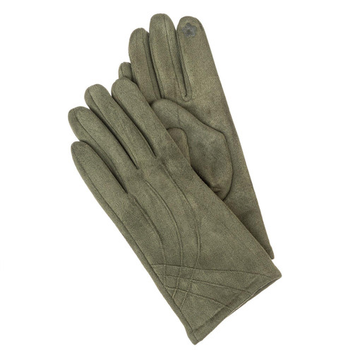 Suede Texting Gloves