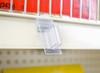 Perpendicular sign holder clip