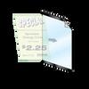"Reusable Frame - 8.5""w x 11""h 1/2"" Black Border"