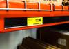 "Price Tag Molding Ticket Holder - W/ Adhesive - Black - 48""L"