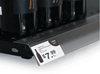 """Hinged Price Tag Molding w/Fasteners - 3.5""""h x 47.875""""l - 50/Pack"""
