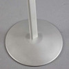 Base for curved floor sign stand