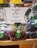 """Pedestal Table top Sign Holder - Includes 11""""x7"""" acrylic sign holder - in produce section"""