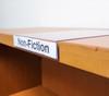 "Moveable Shelf Label Holder - 5""w x 0.75""h Label"