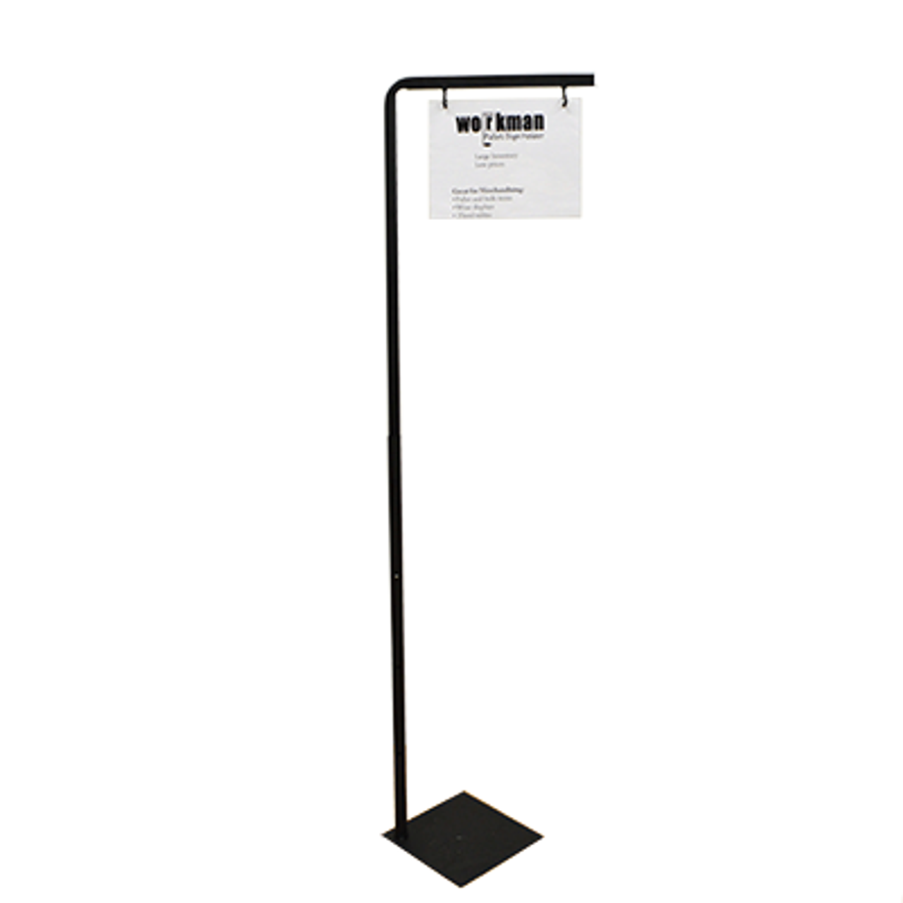 Pallet sign holder is perfect for bulk merchandising and displaying signs at retail locations.