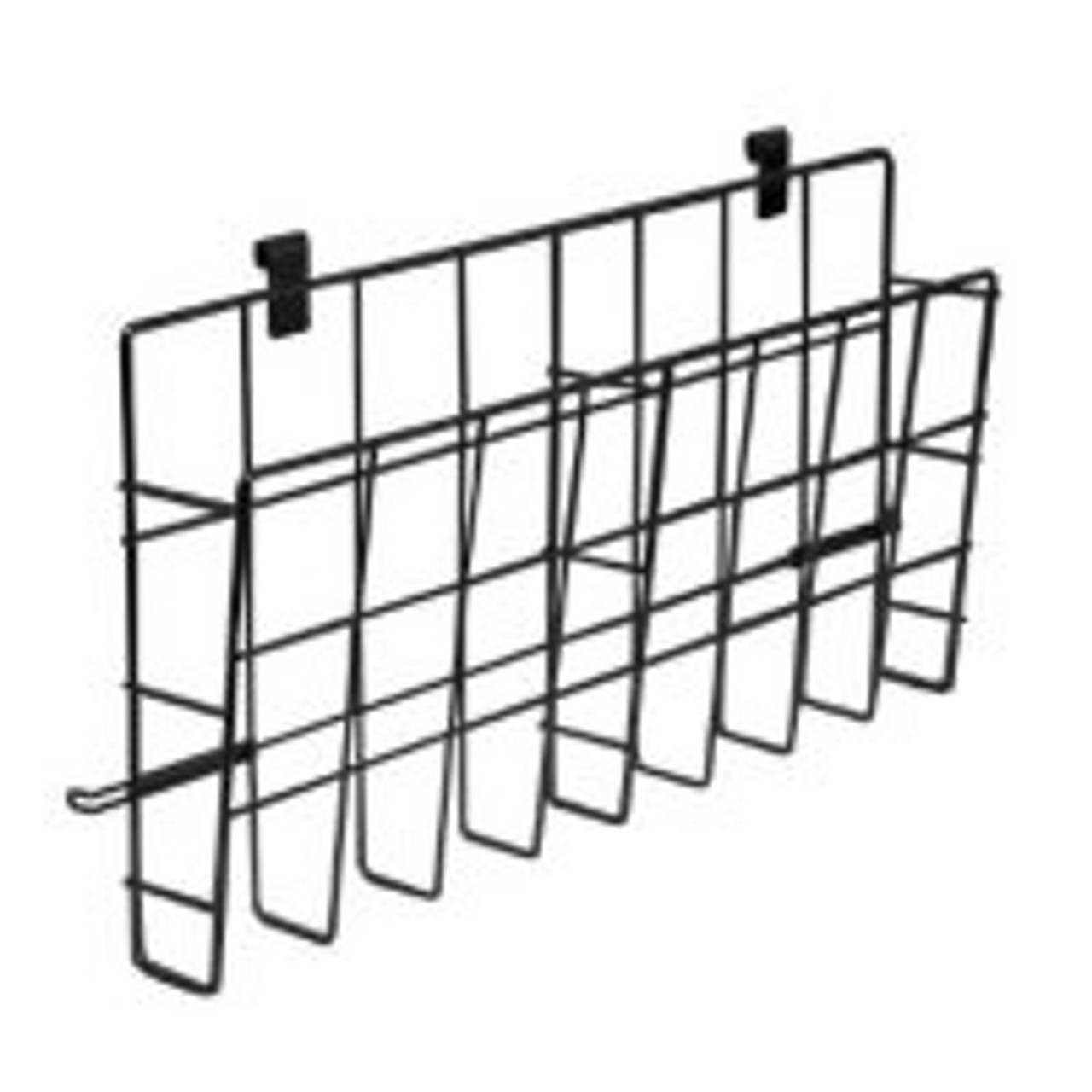 Upright Wire Basket Literature Holder - Attaches to Poster Stand 1/Pack