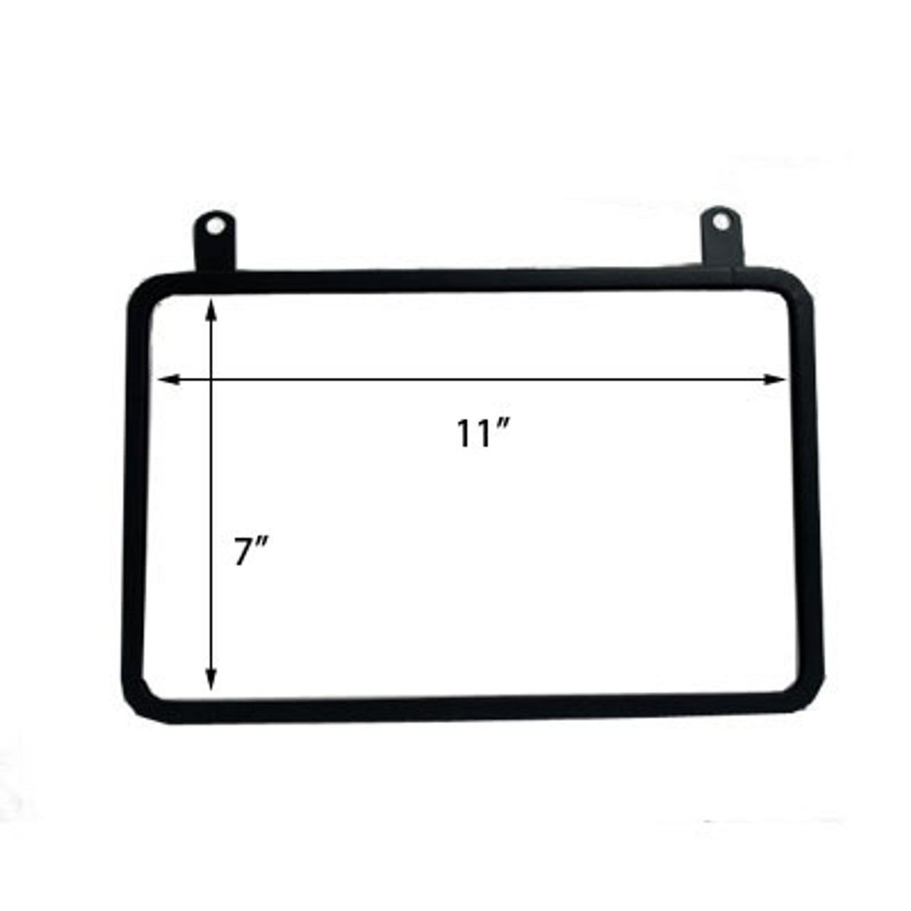 Hanging Metal sign frame attaches to Pallet Sign Holder