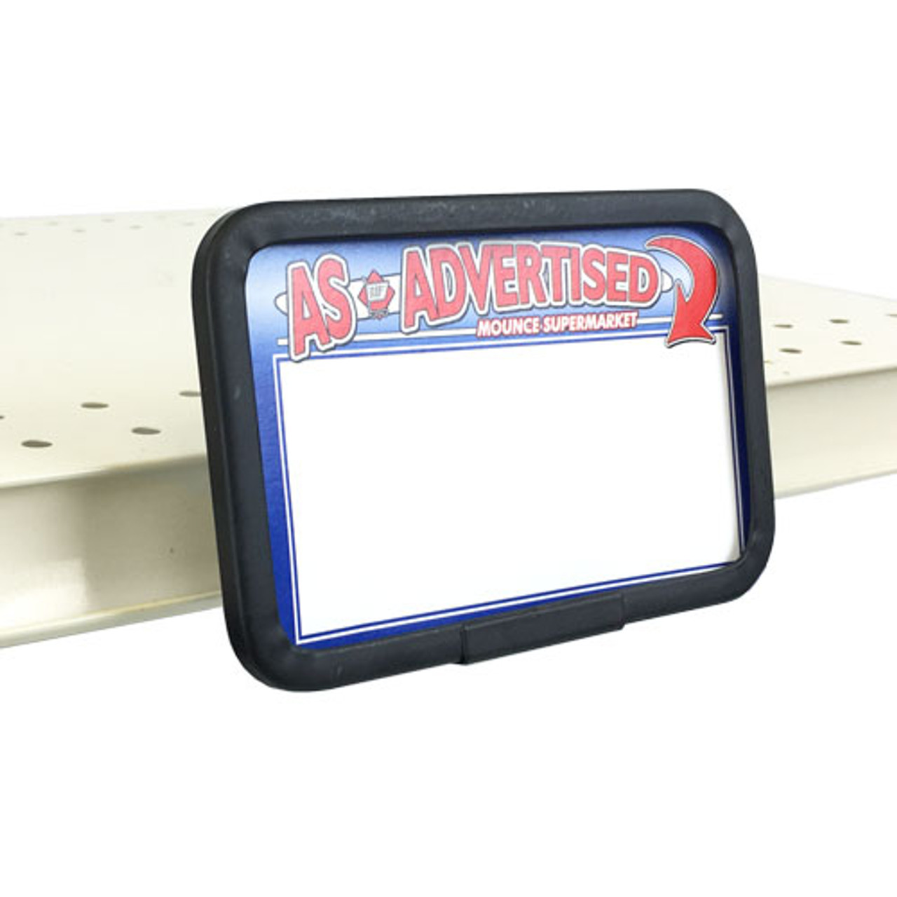 """Channel Mount Sign Holder - 5.5""""w x 3.5""""h"""