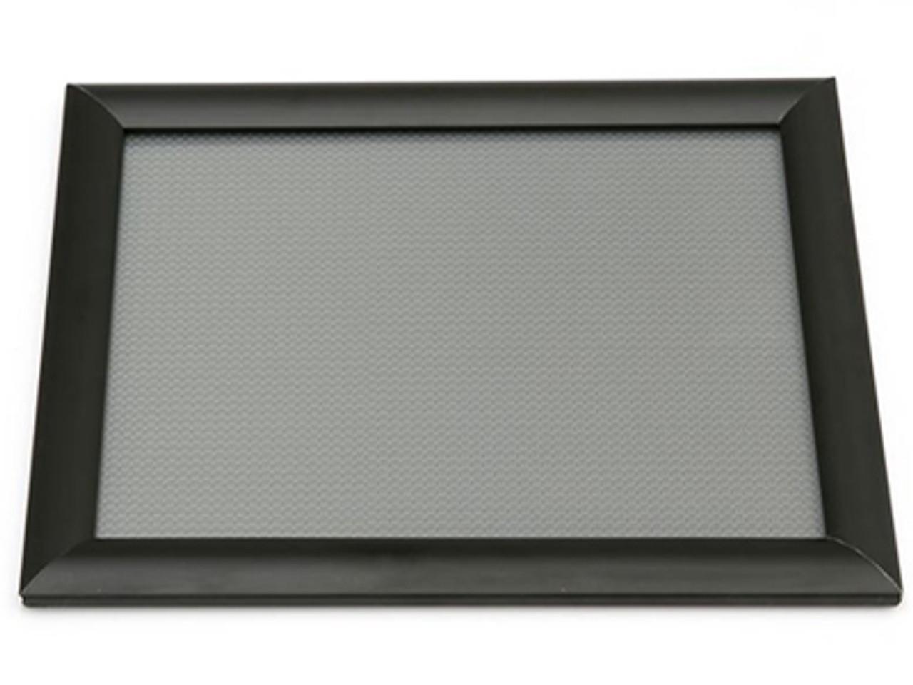 "Aluminum Snap Frame - Black - 11""w x 8.5""h - 1/Pack"