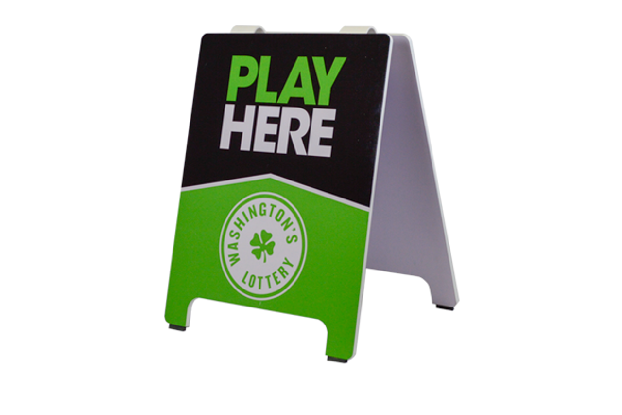 Custom Outdoor Sign Holders