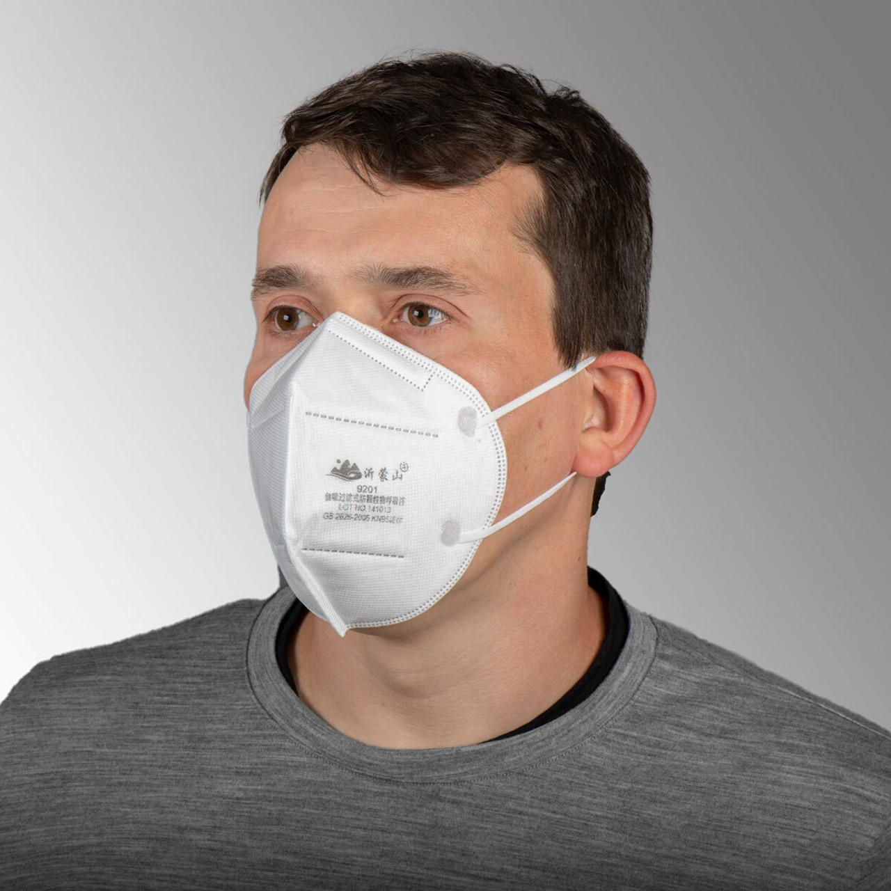 Disposable Protective Mask - 5 Ply - KN95  10/Pack