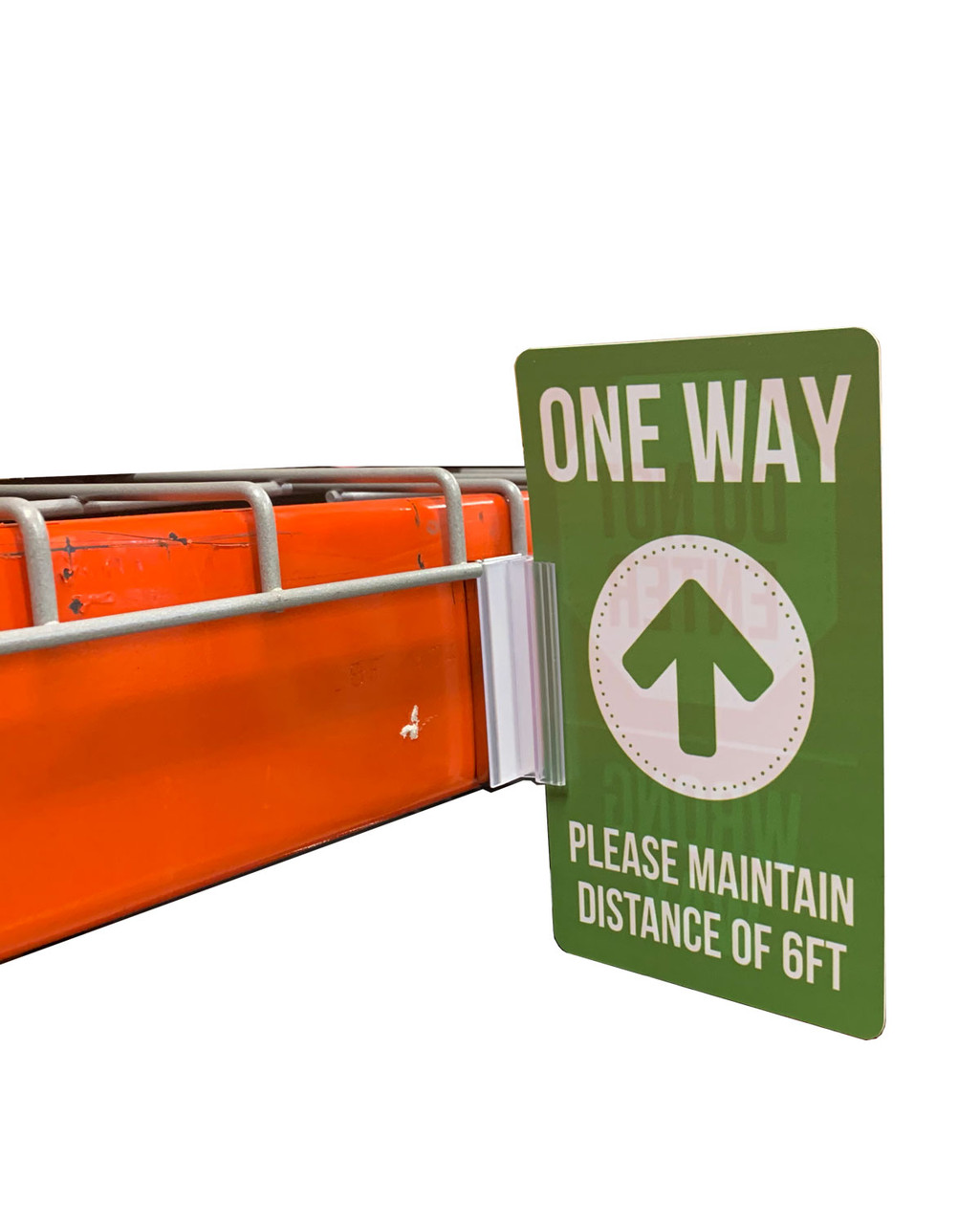 Directional Sign With Magnetic Gripper  10/Pack