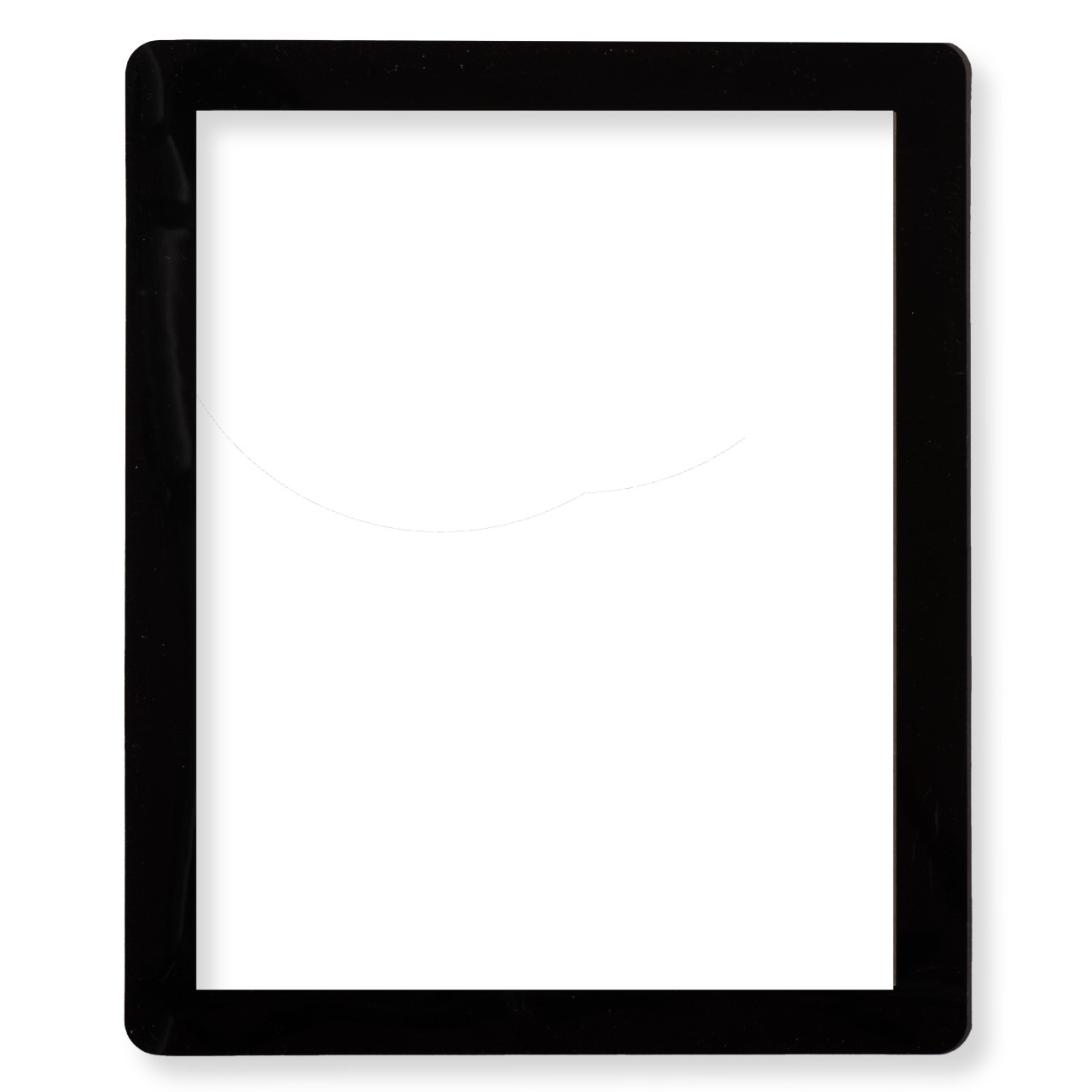 8.5 in. x 11 in. Stick it Frame -  Reuse and Reposition