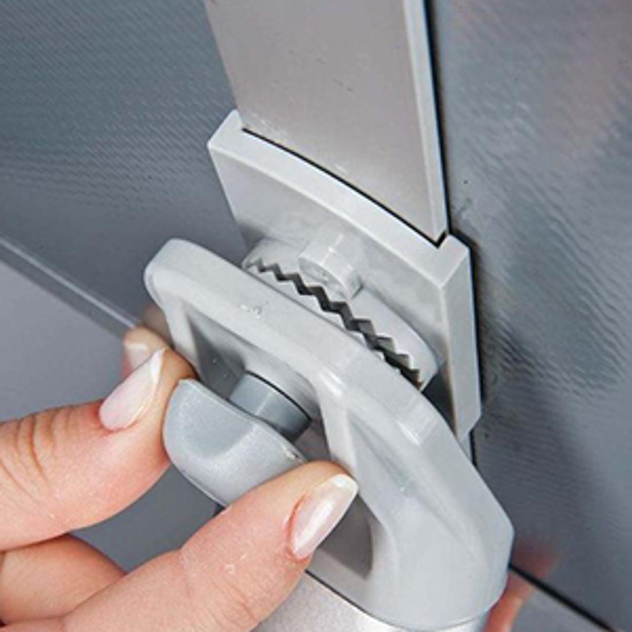 """Aluminum Curved Pedestal Sign Holder & Menu Stand - 11""""w×17""""h Snap Frame - SiIver"""