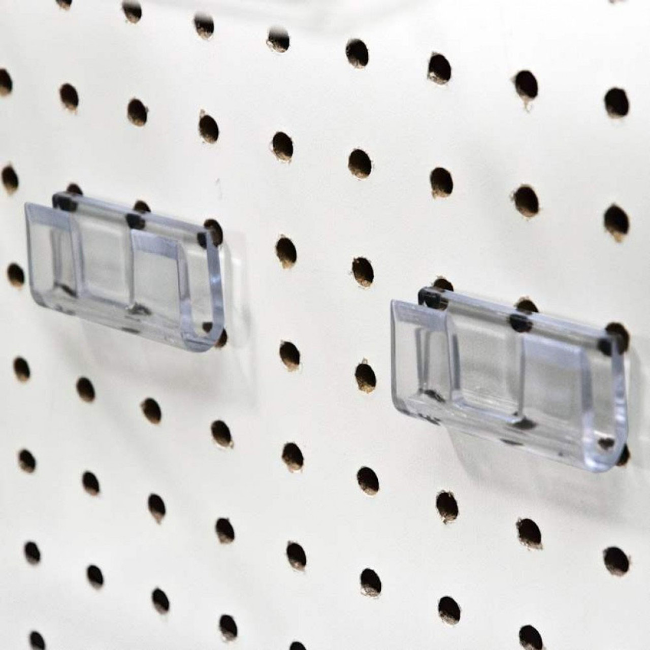 Pegboard/slatwall adapter - included with merchandising Bin