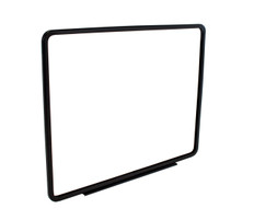 "Metal Sign Frame with Magnetic Base - Black  Finish - Fits 14""x 11"" Sign Insert"