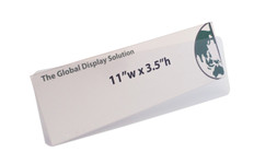 "Sign Protector Insert - Protects 11""w x 3.5""h Sign"