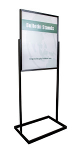 Premium poster stand - Displays 22 x 28 graphics