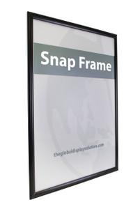 "Aluminum Snap Sign Frame - Black - 22""w x 28""h 1/Pack"