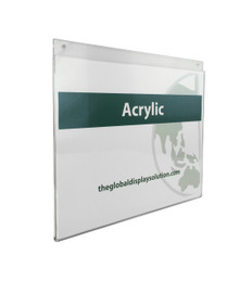 Acrylic Wall Mount Sign Display