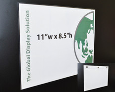 """(1) Up Sign Protector with Magnets - 11"""" x 8.5"""" - 20/Pack"""