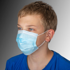child size 3ply protective face mask - non-medical